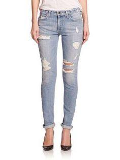 Joe's The Billie Distressed Skinny Jeans $225.00 - Buy it here: http://lmz.co/8kr54I