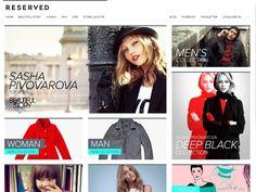 50 Fashion Websites (+20 New Sites)