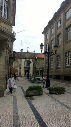 Street life in #Viseu #Portugal