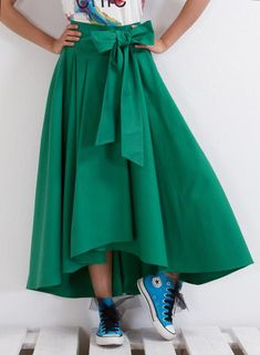 dfc3c3da12 Maxi Skirt, High Waisted Midi Skirt, Plus Size Clothing in 2019 ...