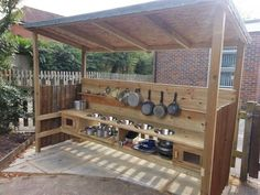 """Want to know more about """"playground outdoor classroom"""" Click the link for more info. Outdoor Play Kitchen, Mud Kitchen For Kids, Outdoor Play Spaces, Kids Outdoor Play, Outdoor Learning, Outdoor Fun, Kitchen Ideas, Outdoor School, Outdoor Classroom"""
