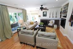 Orange County Interior Designer Family Room