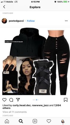 Black Boots Outfit, Ugg Boots Outfit, Outfits For Teens, Stylish Outfits, Cute Outfits, School Outfits, Teen Fashion, Womens Fashion, Black Uggs