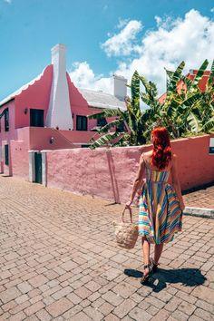 The Perfect 3 Day Bermuda Itinerary - Globetrotting Ginger Bermuda Vacations, Bermuda Travel, Bermuda Island, Vacation Outfits, Solo Vacation, Island Outfit, Us Sailing, The Beautiful Country, Swimming Holes
