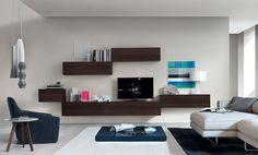 Une telle idée, qui est très pratique et élégante, c'est le meuble tv suspendu. Le dernier est un meuble fonctionnel qui donne à chaque salon, salle de séjo