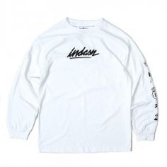 Icon Long Sleeve Tee - White | indcsn