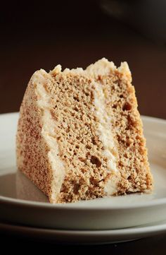 It's the frosting I'm after for the vanilla cupcakes I pinned :)    Cinnamon Sugar Cake with Brown Sugar Cinnamon Buttercream by pastryaffair, via Flickr