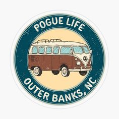 'pogue life obx - outer banks, nc' Transparent Sticker by StinkPad Bubble Stickers, Diy Stickers, Printable Stickers, Laptop Stickers, Bumper Stickers, Planner Stickers, Sticker Ideas, Bedroom Wall Collage, Photo Wall Collage