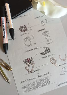 Portfolio – annalisadifelice Jewelry Stores Near Me, Jewelry For Her, Jewelry Art, Fine Jewelry, Pandora Jewelry, Bridal Jewelry, Jewelry Design Drawing, Jewellery Sketches, Jewelry Sketch
