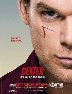 Dexter, another one I shouldn't prob love but I do.