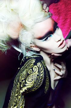 Photography by Polina Vinogradova  Styling by Sofia Choub  Hair by Nicolas Grivaz  Make up by Sara Johnsen-Zaavi using MAC  Model: Sidsel Grubbe