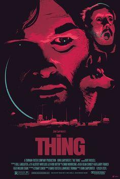 The Thing 30th Anniversary poster  © 2012 Pawel Durczok