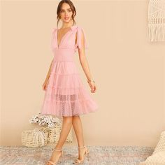 Pinkes Sommerkleid für Hochzeitsgäste & Feiern #ichliebekleiderstore #Cocktailkleider #Abendkleider #Ballkleider #Hochzeit #Dress #Kleider #Outfit #Mode #Fashion #wedding #love #instastyle #fashionblogger #sweet #hot #ad #kleiderstore