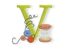 bernina sewing alphabet embroidery freebie