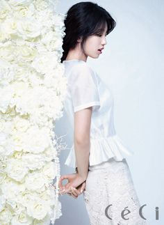 Miss A's Suzy by Park JungMin for Ceci Korea Apr 2013.