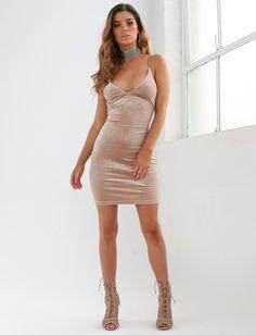 Luciana Velvet Dress