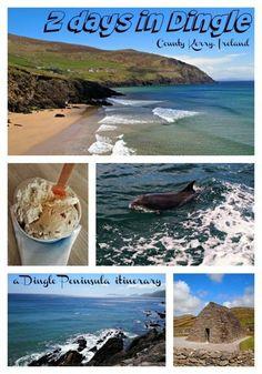 2 Day Dingle Itinerary, County Kerry, Ireland. Ireland travel tips | Ireland vacation | http://IrelandFamilyVacations.com