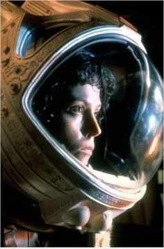 Alien (étranger), le huitième passager avec Sigourney Weaver (lieutenant Ellen L. Ripley) 1979.
