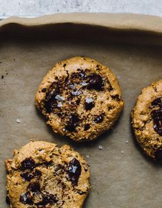 Flourless, chewy peanut butter compost cookies made with chocolate chips, coconut, crushed Chex cereal & pecans. Use up those bits & pieces hiding in your pantry!