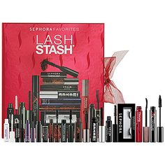 """""""This is a great collection because it lets you sample a bunch of mascaras before you decide which one you want to buy full-size.""""  ―Stephanie B., Top Pinner & Owner of Hair and Makeup by Steph blog.hairandmakeupbysteph.com  @Stephanie Brinkerhoff #SephoraWishList"""