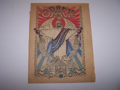 Super rad and hard to find 1960's counter culture ephemera - THE ORACLE via Ebay