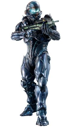 Spartan James Locke...  After the plot of Halo 5, he isn't really who I thought he would be and I actually really like him as a character now!