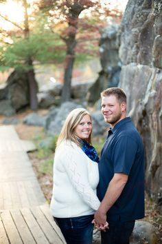 {Real Curvy Engagement} Rock Cliff Natural Backdrop in Mississippi| Jen Montgomery Photography