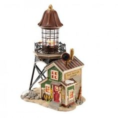 Department 56 - New England Village - Sandy Shoal Lighthouse | Department 56 Villages, Free Shipping on Dept 56