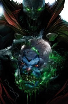 Cascading Dark Art, Fantasy, Sci-Fi, & Sex Appeal - Spawn Cover B Variant Francesco Mattina. Comic Book Characters, Comic Character, Comic Books Art, Comic Art, Spawn Characters, Spawn Comics, Batman Comics, Anime Comics, Rogue Comics