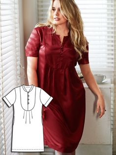 Photo Bombshell: 8 New Plus Size Sewing Patterns Plus Size Sewing Patterns, Clothing Patterns, Dress Patterns, Burda Patterns, Plus Size Dresses, Plus Size Outfits, Sewing Blogs, Sewing Clothes, Diy Fashion