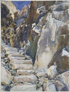 John Singer Sargent - Lizzatori I