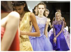 ELIE SAAB Backstage - Haute Couture Spring Summer 2014