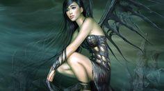 Girl Grief Wings