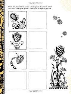The Art of Zentangle: 50 Inspiring Drawings, Designs & Ideas for the Meditative Artist: Amazon.fr: Margaret Bremner, Norma J. Burnell, Penny...