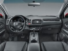 Honda mostra o interior do HR-V +http://brml.co/16bxhiG