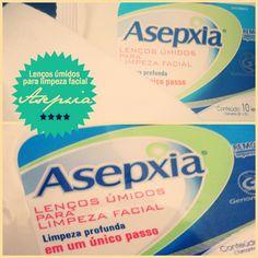 Asepxia lenços umidecidos