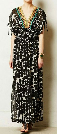 Dotted maxi