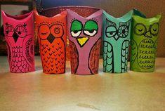 Toliet Paper Owl's.
