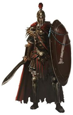 Felix Meridius Caesar, the Conestabularius of the Praetorian Guard Fantasy Armor, Medieval Fantasy, Dark Fantasy, Fantasy Fighter, Fantasy Male, Fantasy Character Design, Character Design Inspiration, Character Art, Dnd Characters