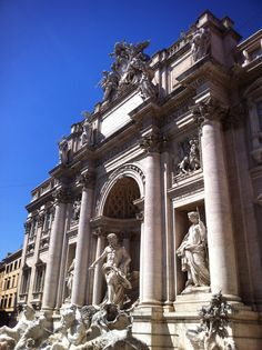 The fantastic Fontana di Trevi in Rome