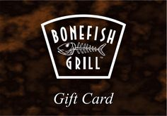 Bonefish Grill Gift Card #giftcard #promocode Bonefish Grill, Grilling Gifts, Gift Cards, Gift Vouchers, Gift Tags, Gift Certificates