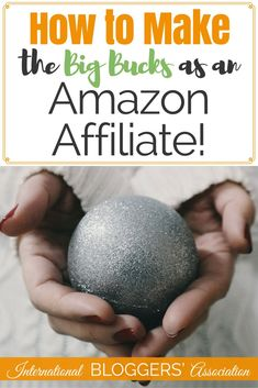 How to Make the Big Bucks as an Amazon Affiliate! One of the easiest (and best) ways to monetize your blog is by signing up as an Amazon affiliate. Learn how to share what you love and get paid seamlessly! www.international...