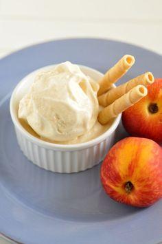 Broskyňová zmrzlina - Recept pre každého kuchára, množstvo receptov pre pečenie a varenie. Recepty pre chutný život. Slovenské jedlá a medzinárodná kuchyňa