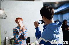 J-Hope and Jin ❤ BTS X Dispatch Love Yourself 承 'Her' Photoshoot~ (Original Article: m.star.naver.com/bts) #BTS #방탄소년단