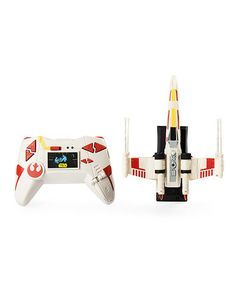 Love this Air Hogs Star Wars Remote Control Zero Gravity X-Wing Fighter on #zulily! #zulilyfinds