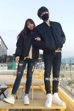 You don't own me pt 1 and 2 Matching Couple Outfits, Matching Couples, Cute Couples, Korea Fashion, Kpop Fashion, Asian Fashion, Japanese Couple, Korean Couple, Couple Avatar