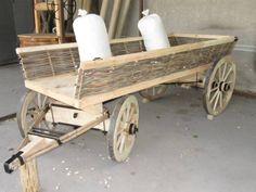 WoodCraft - Изготовление мебели ручной работы в Павлограде - Деревянная повозка своими руками с плетенными из лозы бортами (Пятое изображение)