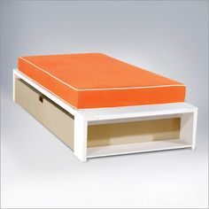 Trundle Bed - These are easier to change sheets/bedding then bunk beds!
