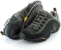 8fd1b876bc27 Merrell mens Merrell Mens J73703 Intercept Walking Shoes Black  7.5