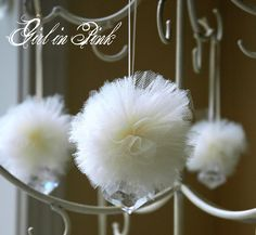 Girl in Pink: Tutorial: Create a Whimsical Winter Wonderland with Handmade Snow Puffs